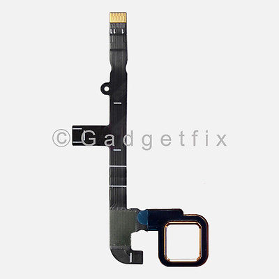 White Home Menu Button Flex Cable Key Assembly for Motorola MOTO Z Play XT1635