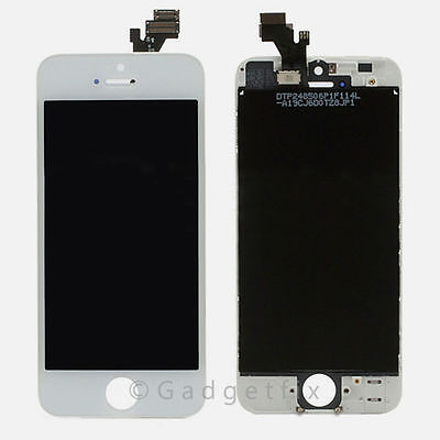 White Iphone 5 LCD Display Touch Digitizer Screen Assembly