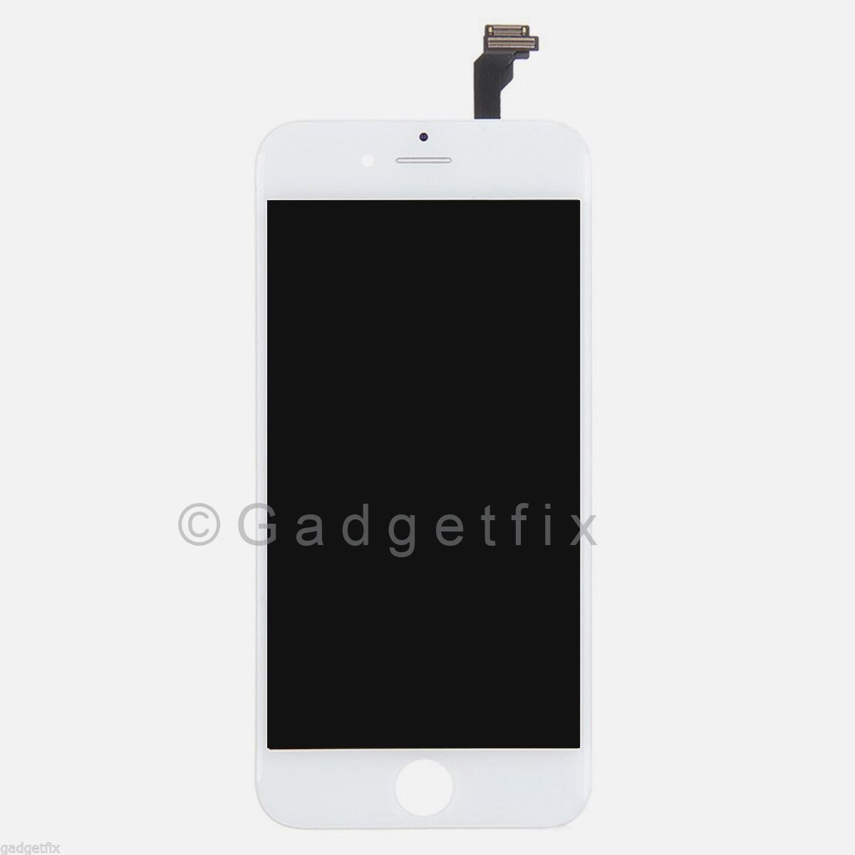 White LCD Screen Display + Touch Screen Digitizer + Frame for iPhone 6 PLUS