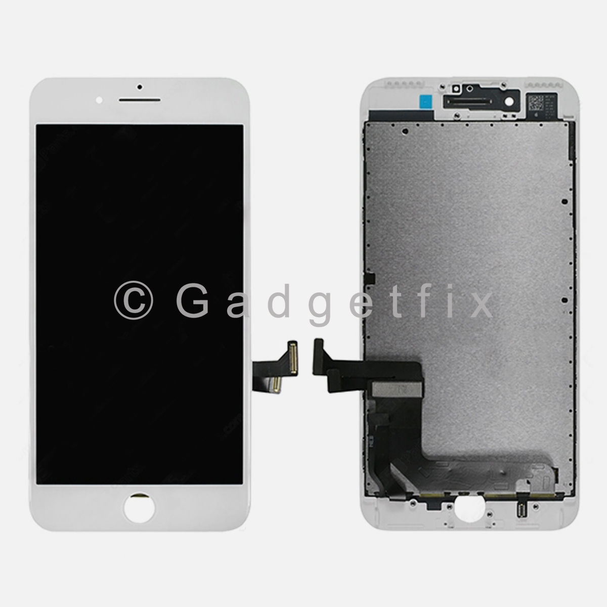 (OEM IC Chip) White LCD Touch Screen Digitizer Replacement For iPhone 7 Plus