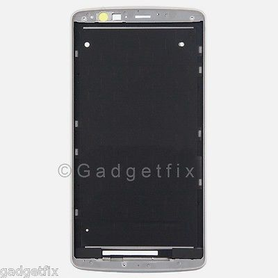 White LG G3 D850 D851 D855 Middle Housing Chassis LCD Touch Holder Frame Bezel
