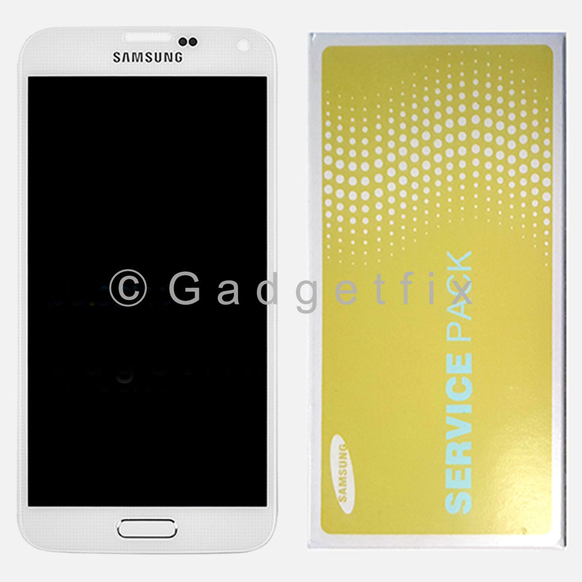 White Samsung Galaxy S5 G900F G900A G900T G900V G900P LCD Display Touch Screen Digitizer