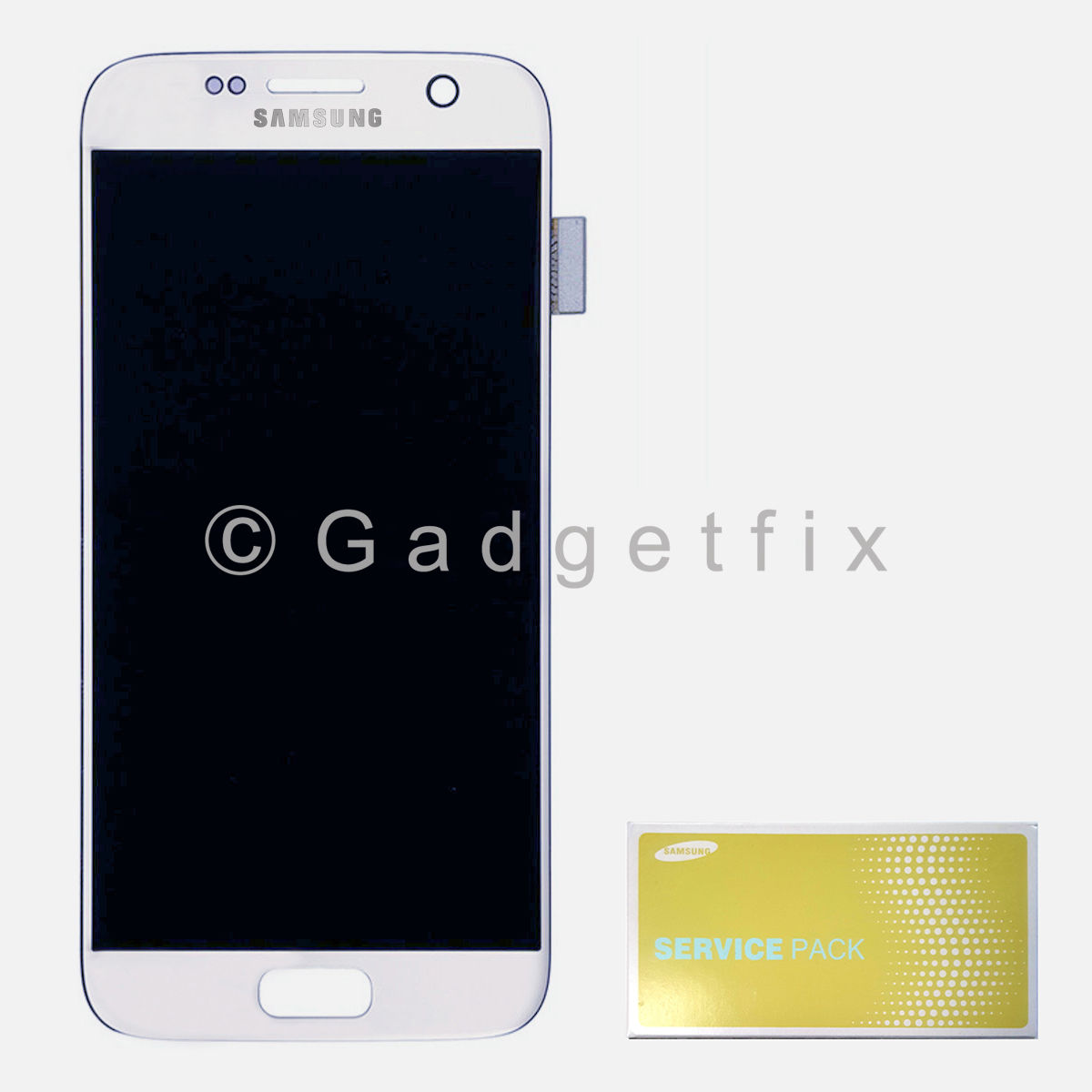 White Samsung Galaxy S7 G930V G93P LCD Screen Display + Touch Screen Digitizer