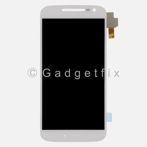 White Touch Screen Digitizer LCD Screen Display For Motorola Moto G4 LTE XT1625