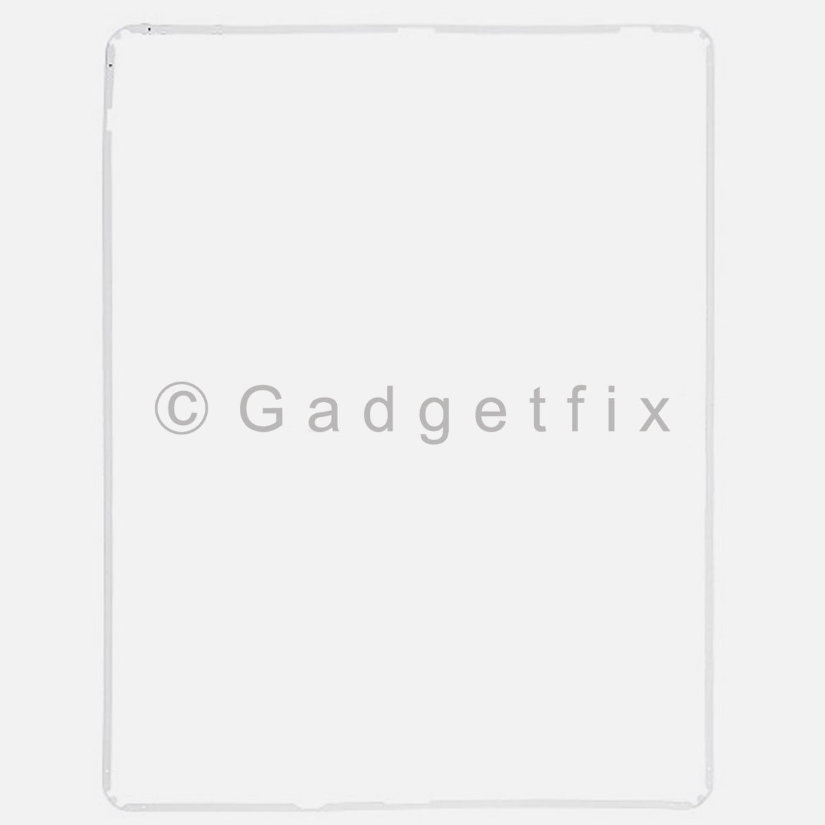 White iPad 3rd Generation Gen Touch Screen Holder Plastic Mid Frame Bezel