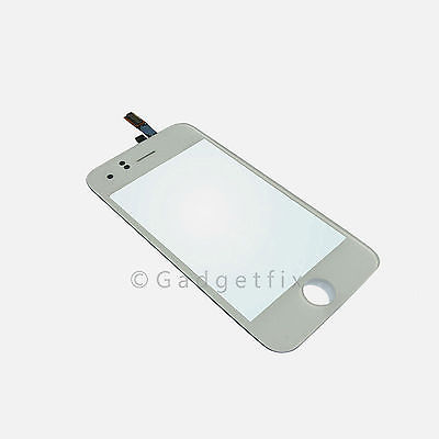 White iphone 3G Touch panel Screen Digitizer lens USA