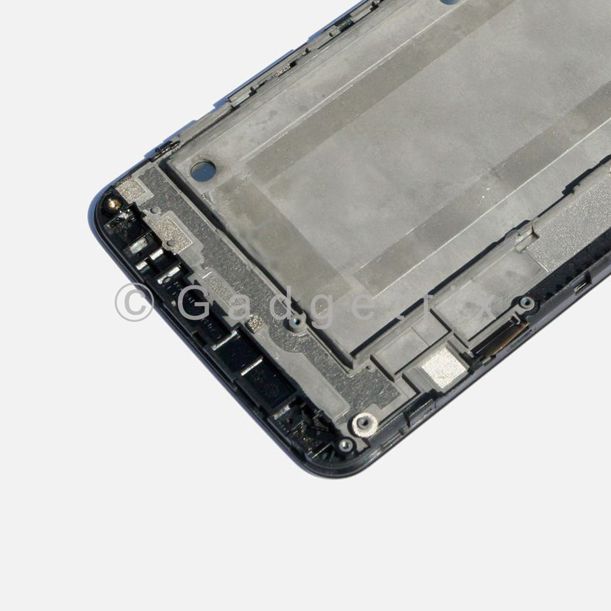 """ZTE MAX Boost Mobile N9520 5.7"""" LCD Screen Display Touch Screen Digitizer Frame"""