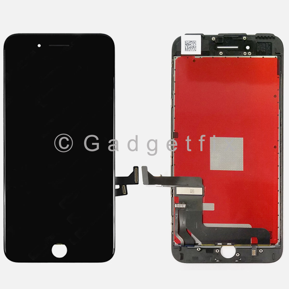 Black iPhone 7 Plus LCD Screen Display Touch Screen Digitizer Panel + Frame