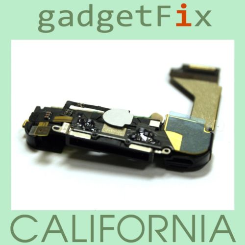 iphone 4 charger flex assembly w/ mic antenna speaker