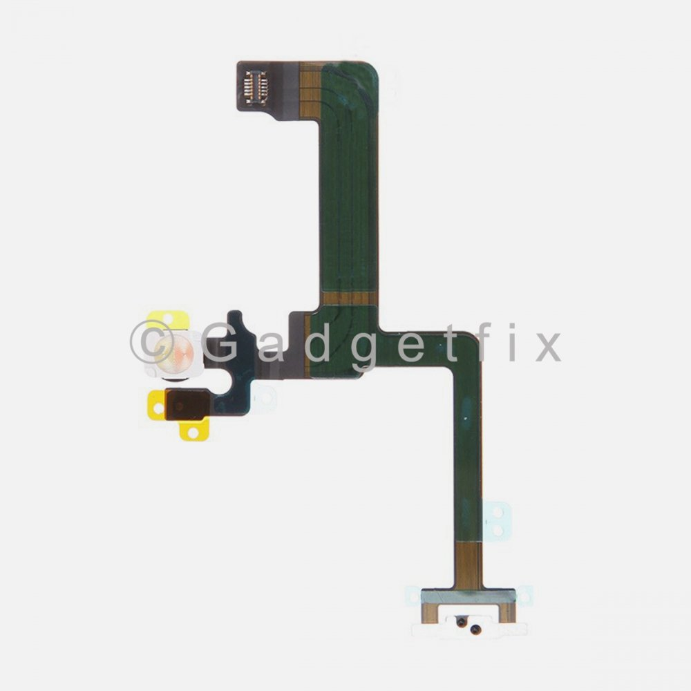 Power On Off Volume Switch Button Connector Flex Cable Replacement for iPhone 6 Plus
