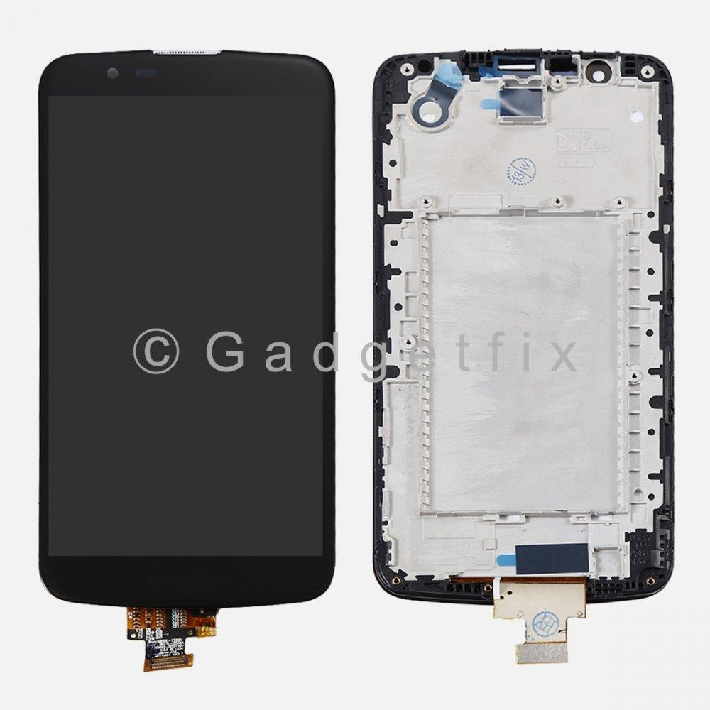 LG K10 K410 K420N K430 K430DS MS428 LCD Screen Touch Screen Digitizer + Frame