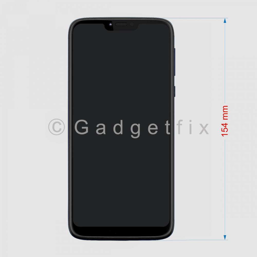 Display LCD Touch Screen Digitizer + Frame For Motorola Moto G7 Power XT1955 (154mm)