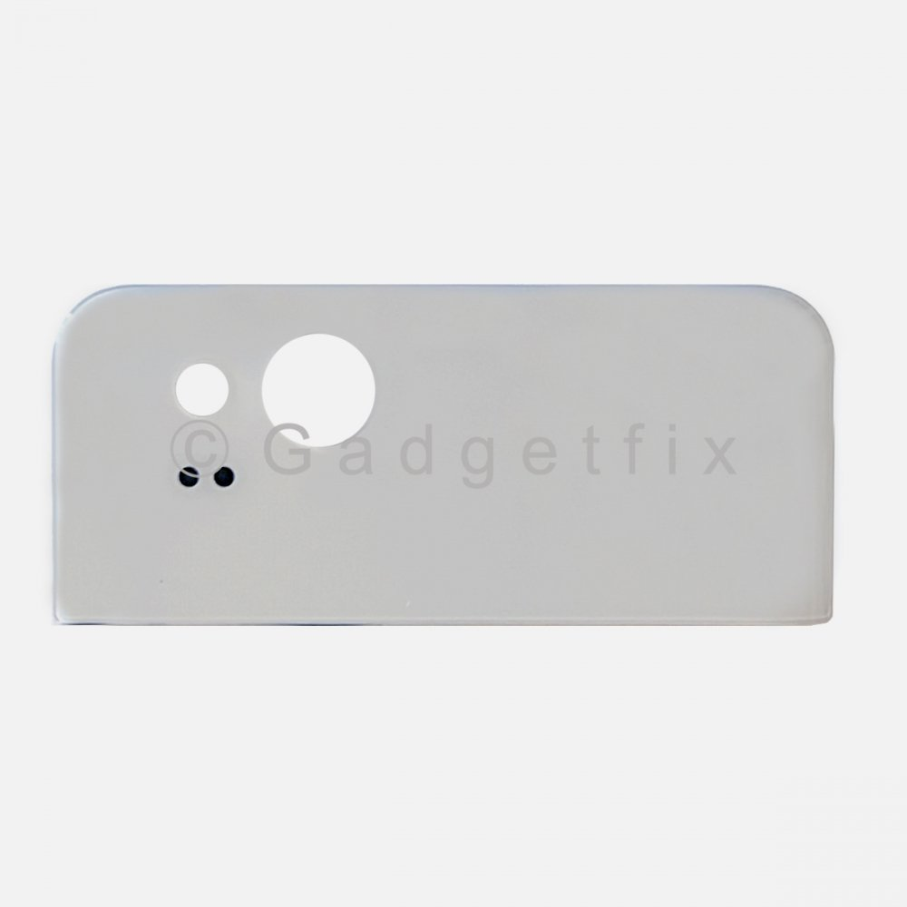 White Rear Housing Back Camera Glass Lens Top Cover For Google Pixel 2