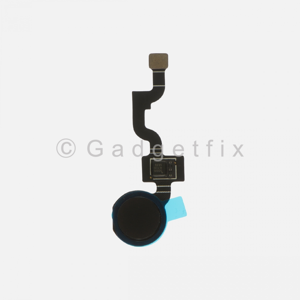 Black Button Fingerprint Scanner Sensor For Google Pixel 3A