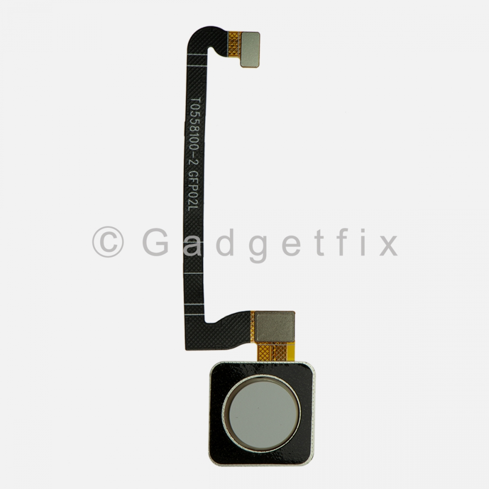 White Button Fingerprint Scanner Sensor For Google Pixel 3