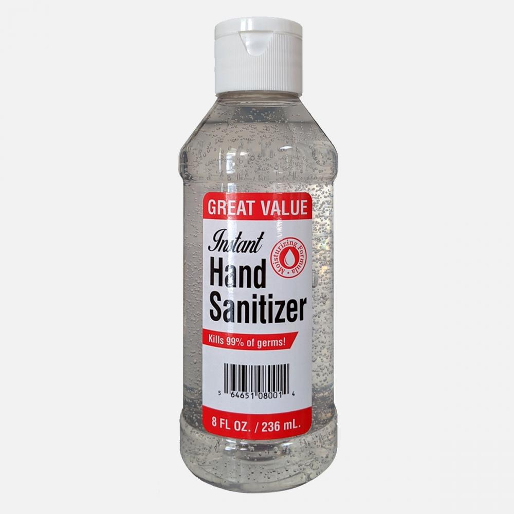 62% Alcohol Rinse-Free Antibacterial Hand Sanitizer Gel 236ml (8 oz)| Kills 99.9% Bacteria