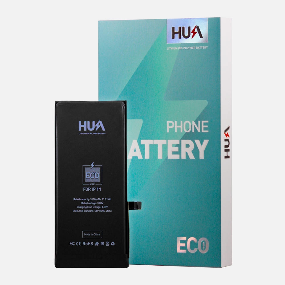 HUA Lithium Ion Polymer High Quality Replacement Battery for iPhone 11