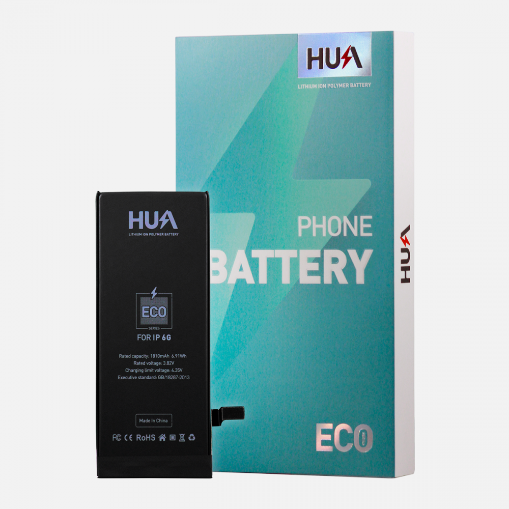 HUA Lithium Ion Polymer High Quality Replacement Battery for iPhone 6