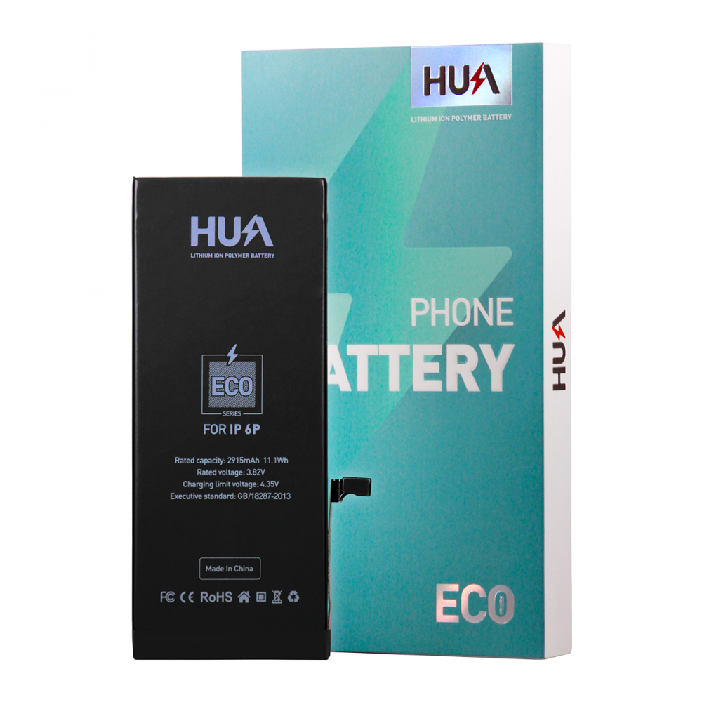 HUA Lithium Ion Polymer High Quality Replacement Battery for iPhone 6 Plus