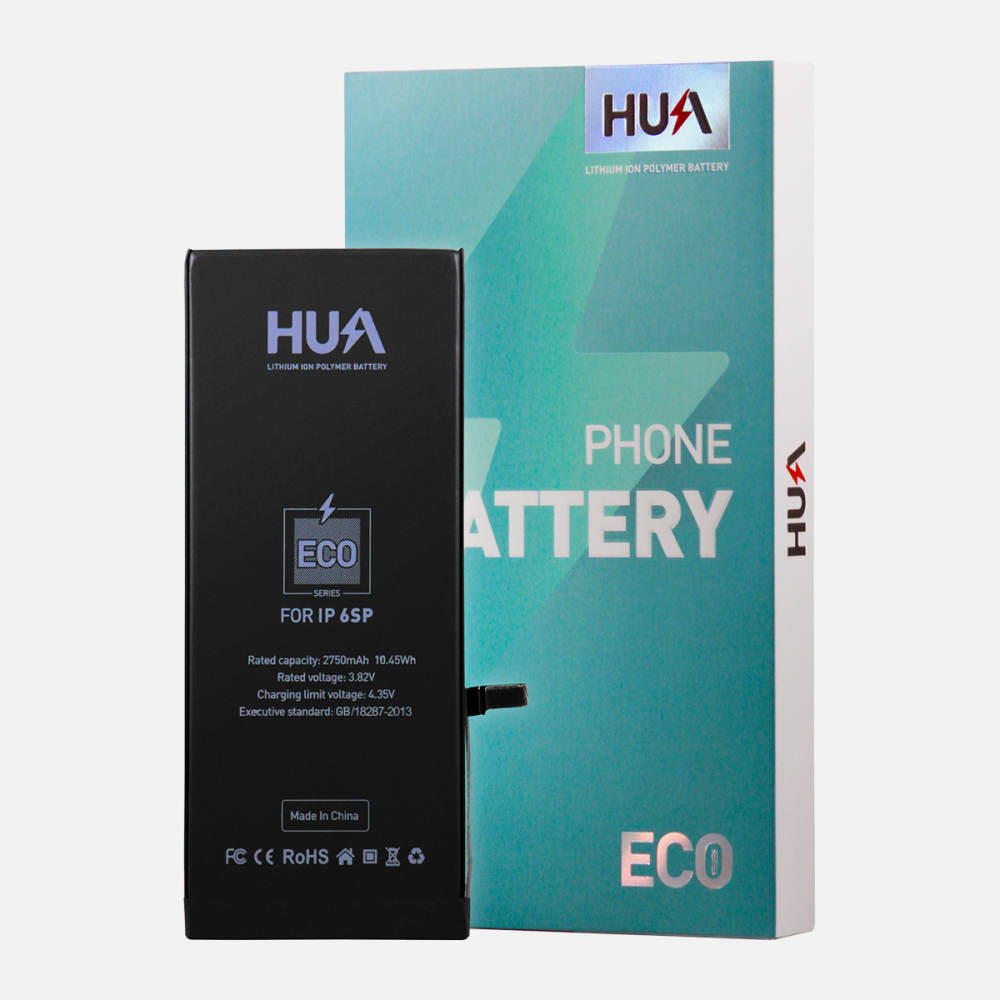 HUA Lithium Ion Polymer High Quality Replacement Battery for iPhone 6S Plus