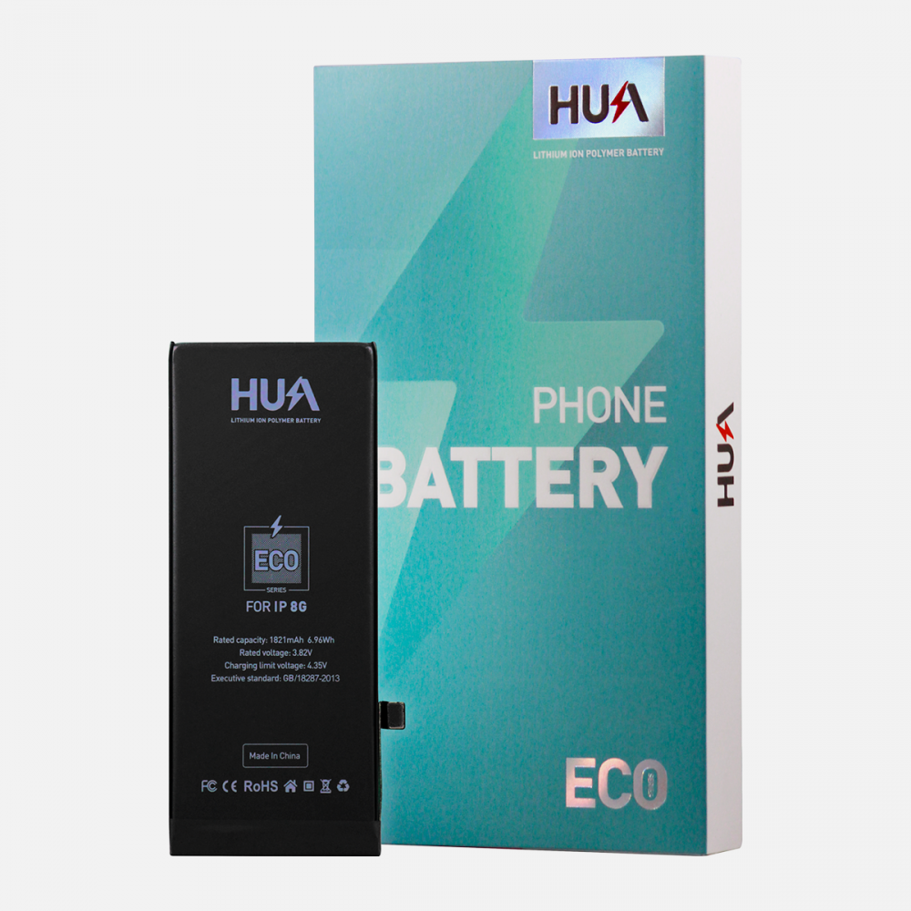 HUA Lithium Ion Polymer High Quality Replacement Battery for iPhone 8