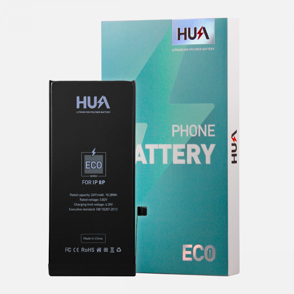 HUA Lithium Ion Polymer High Quality Replacement Battery for iPhone 8 Plus