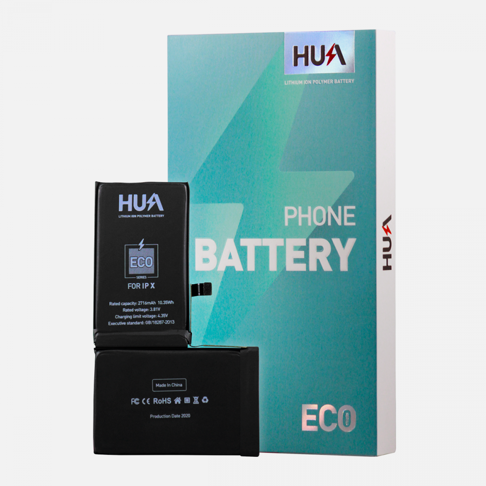 HUA Lithium Ion Polymer High Quality Replacement Battery for iPhone X