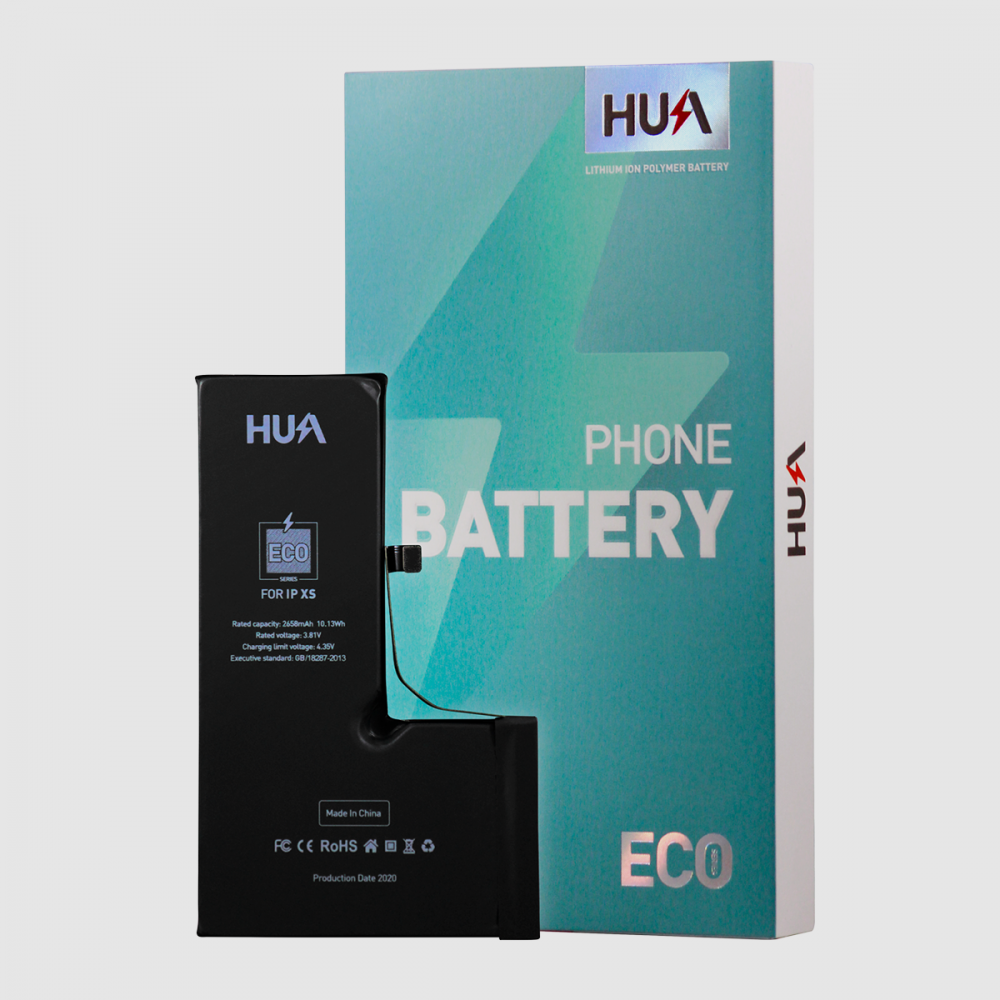 HUA Lithium Ion Polymer High Quality Replacement Battery for iPhone XS