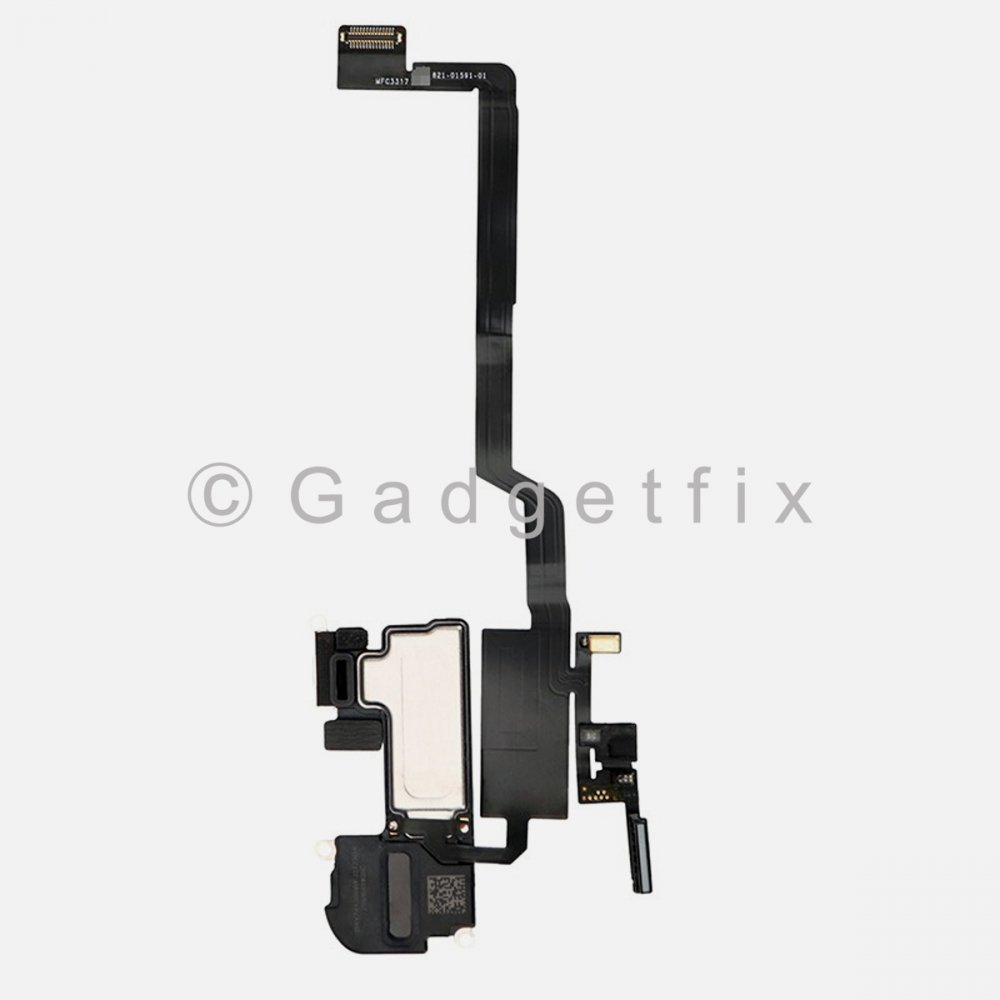 Earpiece Ear Speaker with Proximity Light Sensor Flex Cable Ribbon Replacement For Iphone X 10