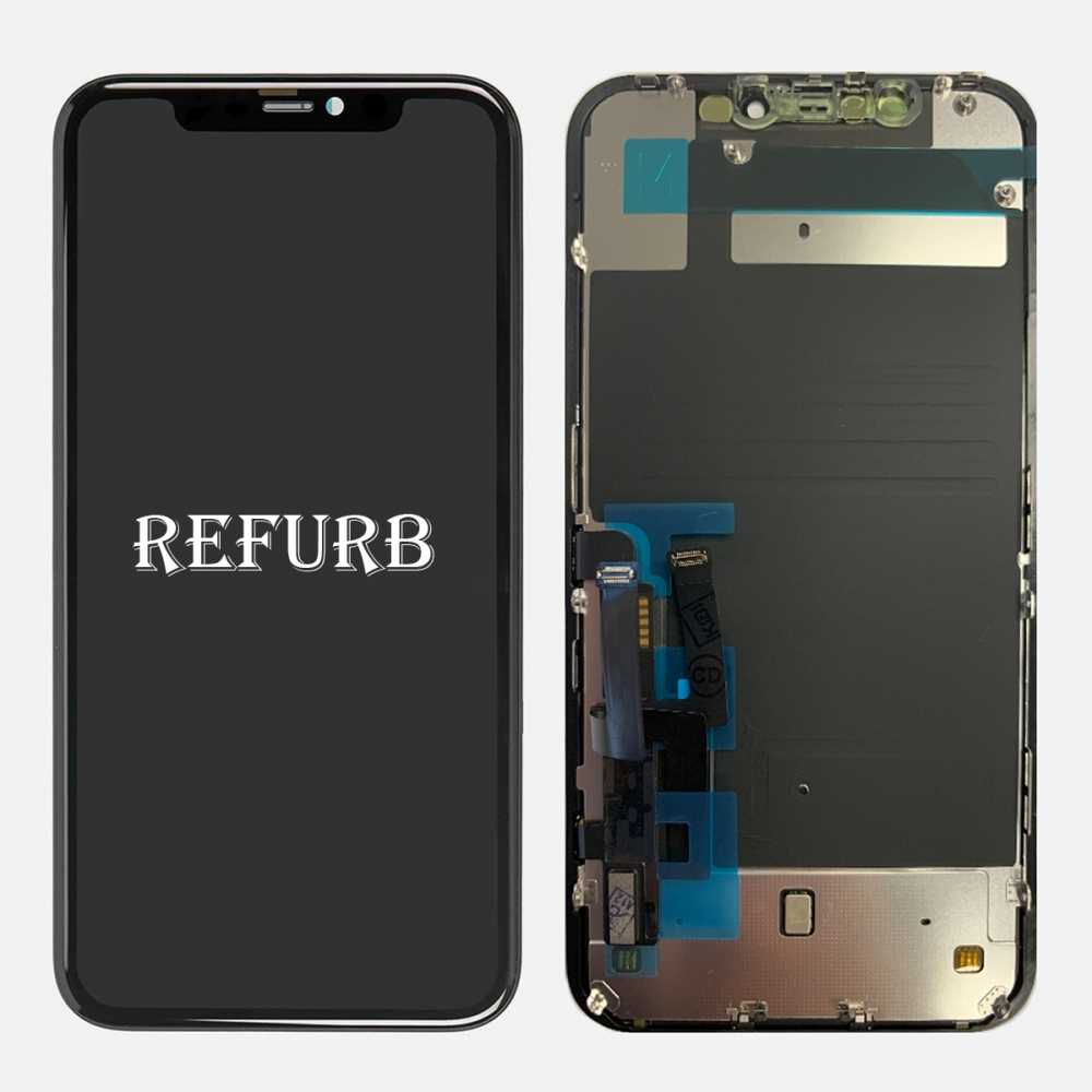 Refurbished Retina IPS LCD Display Touch Screen Digitizer + Back Plate For Iphone 11
