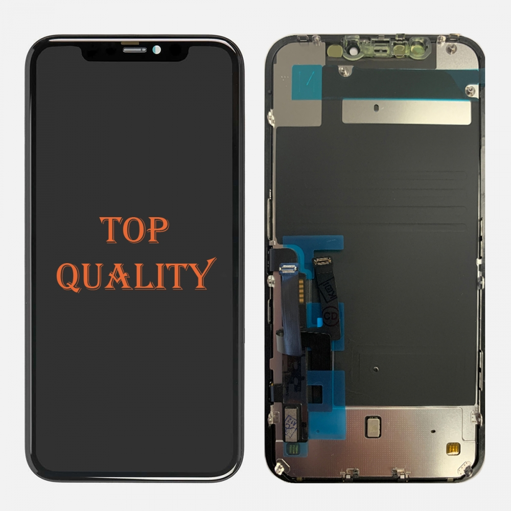 Liquid Retina IPS LCD Display Touch Screen Digitizer + Back Plate For Iphone 11