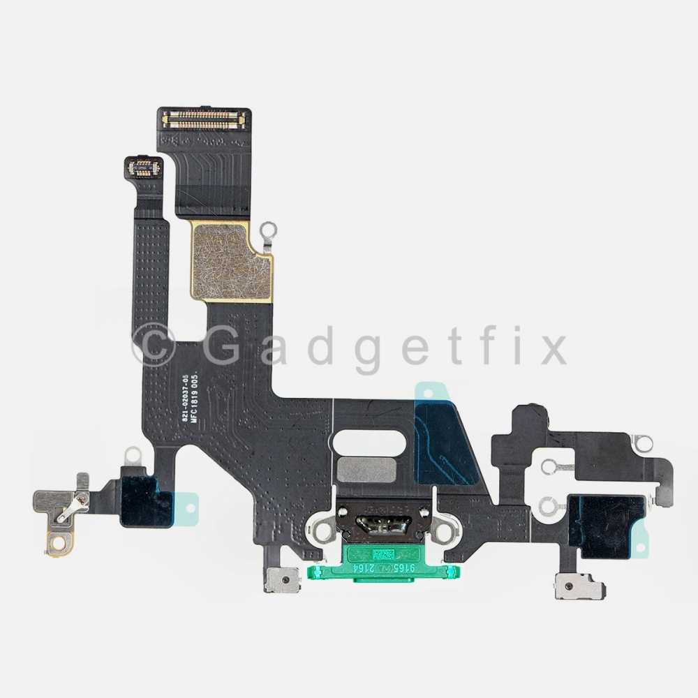 Green Lightning Charger Charging Port Dock Connector Flex Cable For Iphone 11