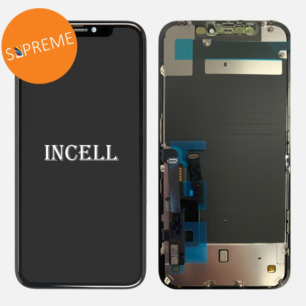 Supreme Retina IPS LCD Display Touch Screen Digitizer + Back Plate For Iphone 11