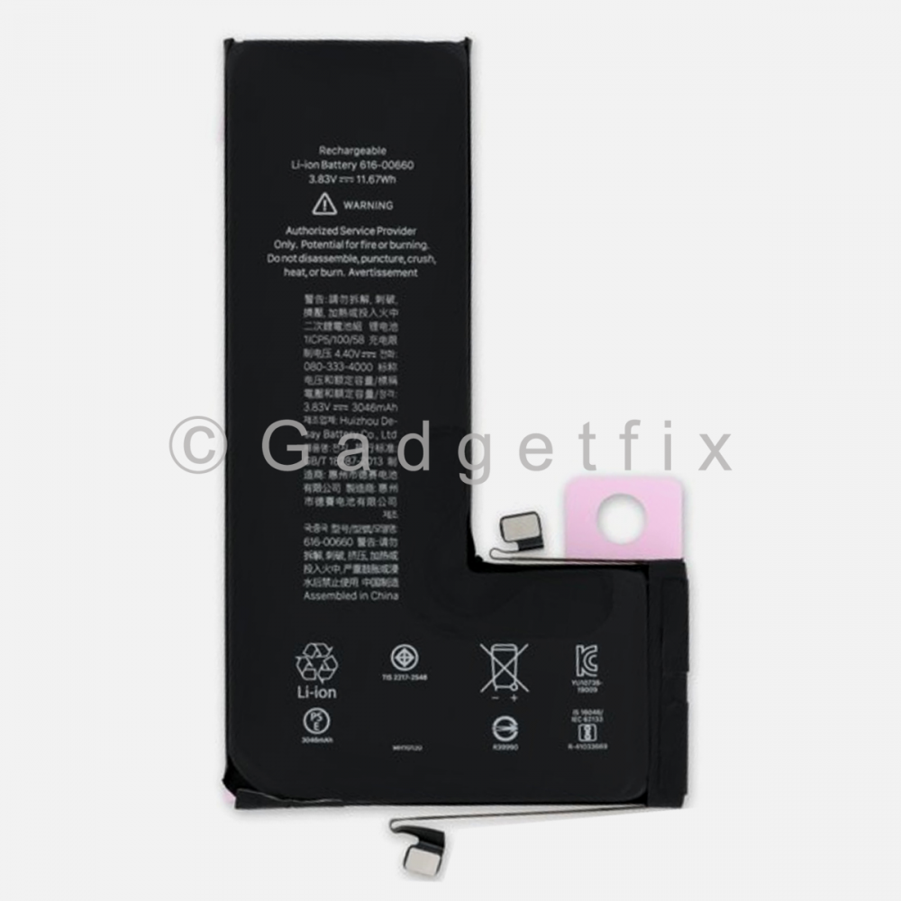 New 3040 mAh Battery Replacement For Iphone 11 Pro 616-00660 | 616-00659