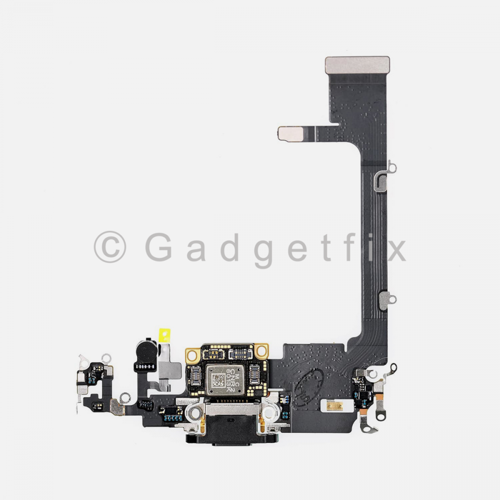 Gray Lightning Charging Port Flex Cable w/ Daughter Board For Iphone 11 Pro