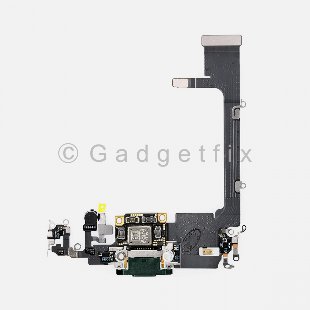 Green Lightning Charging Port Flex Cable w/ Daughter Board For Iphone 11 Pro