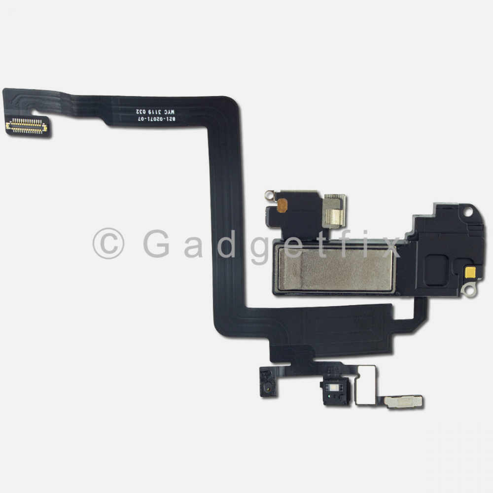 Earpiece Ear Speaker with Proximity Light Sensor Flex Cable For Iphone 11 Pro