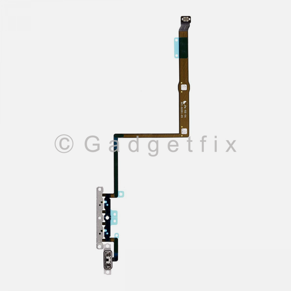 Volume Connector Flex Ribbon Cable with Bracket For Iphone 11 Pro Max