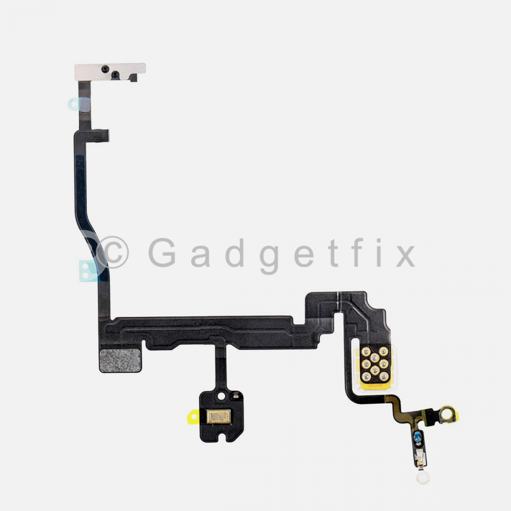 Power Button Connector Flex Ribbon Cable with Bracket For Iphone 11 Pro