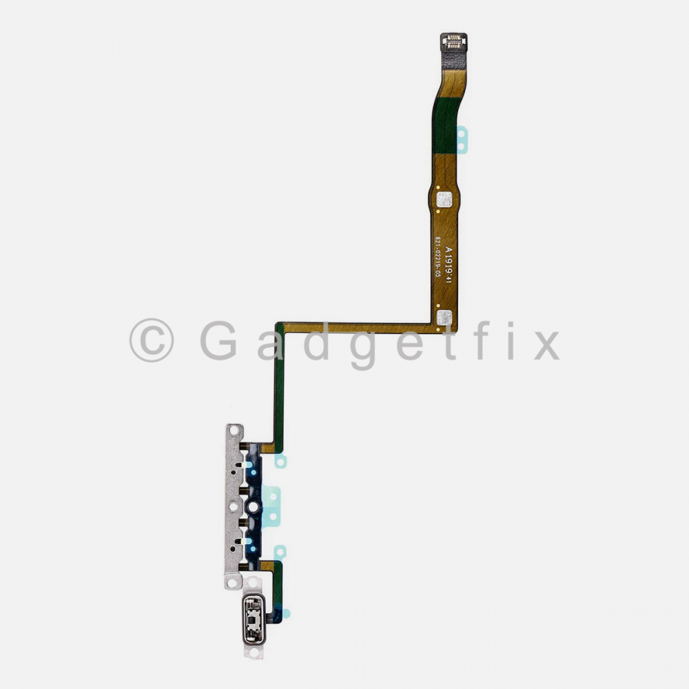 Volume Connector Flex Ribbon Cable with Bracket For Iphone 11 Pro
