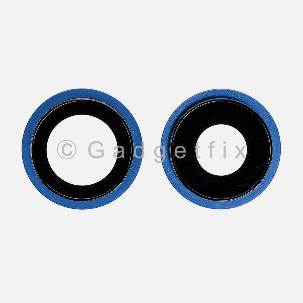 Blue Back Camera Lens w/ Bracket For Iphone 12 Mini | Iphone 12