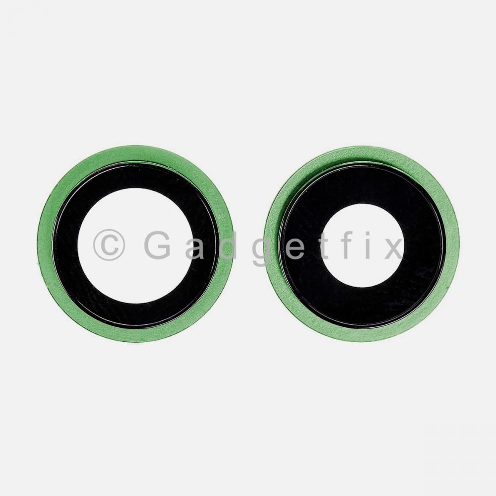 Green Back Camera Lens w/ Bracket For Iphone 12 Mini | Iphone 12