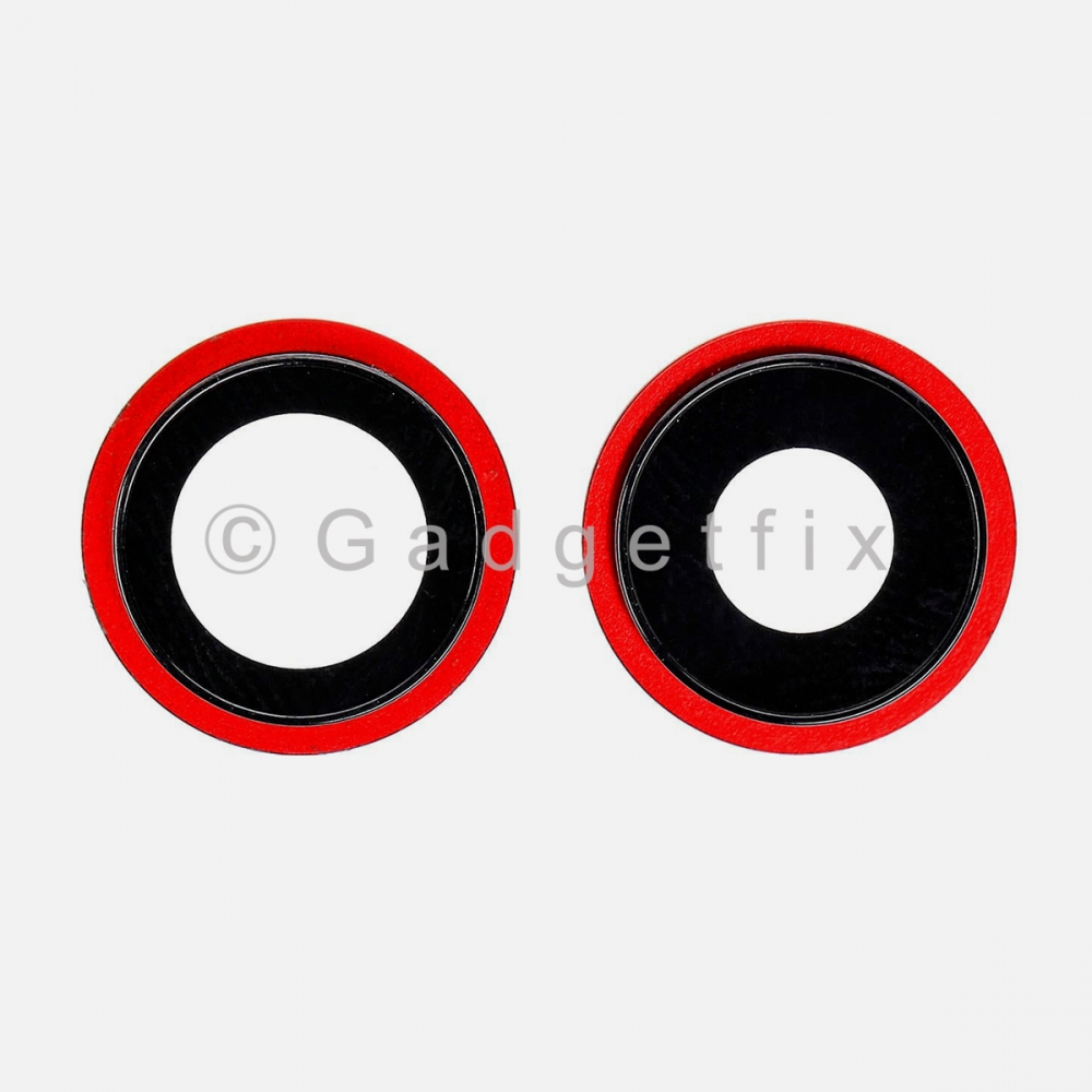 Red Back Camera Lens w/ Bracket For Iphone 12 Mini | Iphone 12