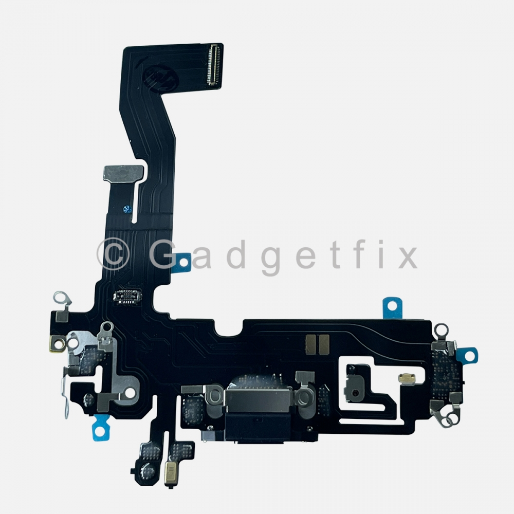 Graphite Lightning Charger Charging Port Dock Connector Flex Cable For iPhone 12 PRO