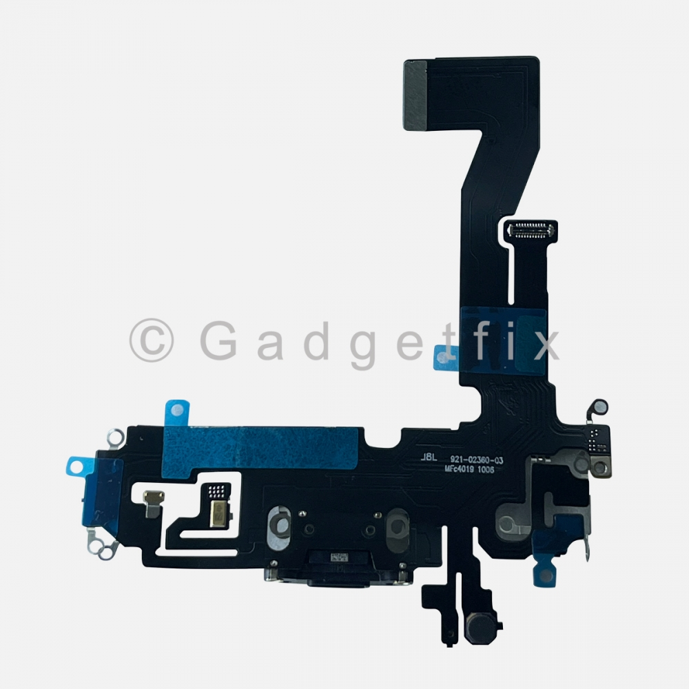 Graphite Lightning Charger Charging Port Dock Connector Flex Cable For iPhone 12