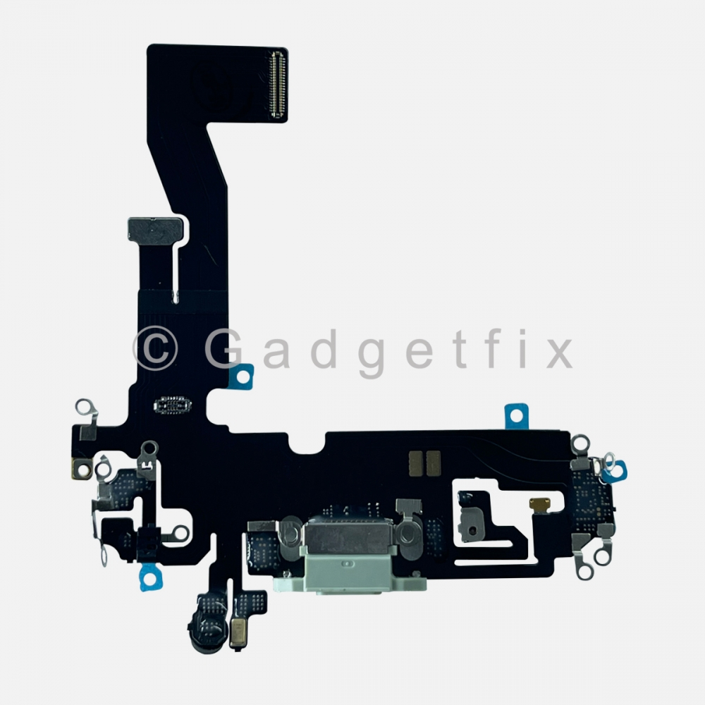 Green Lightning Charger Charging Port Dock Connector Flex Cable For Iphone 12