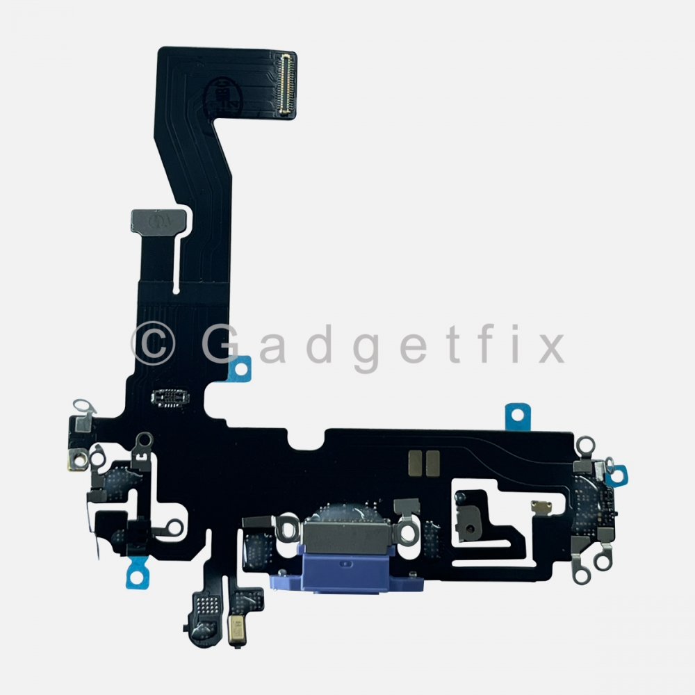 Purple Lightning Charger Charging Port Dock Connector Flex Cable For Iphone 12