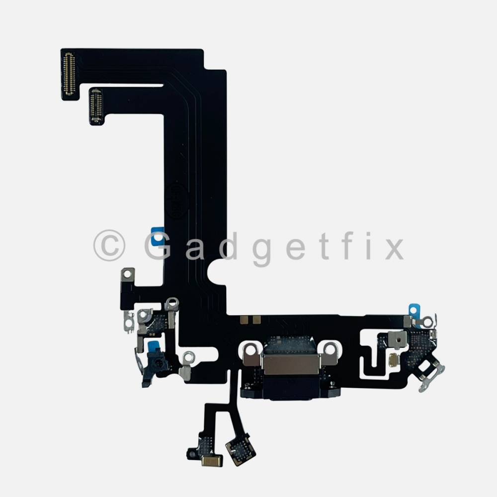 Black Charging Port Dock Connector Flex Cable Charger  For Iphone 12 Mini