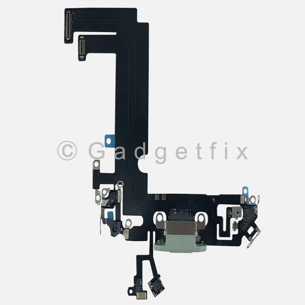 Green Charging Port Dock Connector Flex Cable Charger  For Iphone 12 Mini