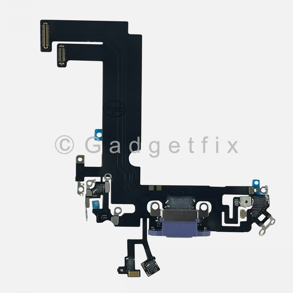 Purple Charging Port Dock Connector Flex Cable Charger  For Iphone 12 Mini